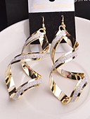 cheap Fashion Scarves-Women's Drop Earrings - Silver / Golden For Wedding / Party / Daily