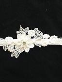 preiswerte Kleider für die Blumenmädchen-Stretch - Satin Modisch Hochzeitsstrumpfband Mit Blume Strumpfbänder