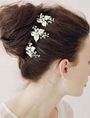 preiswerte Mantel & Trenchcoat-die neue Braut High-End-Reifen reine manuelle Haarband Golddiamantkristall 3pcs