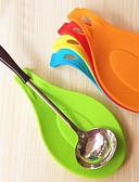 abordables Camisetas y Tops de Hombre-Cuchara de silicona estera de aislamiento placemat coaster bandeja herramientas de cocina