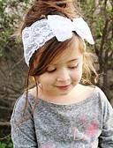 tanie Dziecięce Ozdoby do włosów-Brzdąc Dla dziewczynek Słodkie Kokarda Koronka Akcesoria do włosów / Opaski na głowę