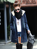 cheap Women's Coats & Trench Coats-Women's Street chic Denim Denim Jacket-Solid Colored