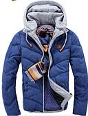ieftine Îmbrăcăminte Bărbați de Exterior-MEN - Haine & JGeci (Amestec Bumbac) Informal Hanorac cu Glugă - Mânecă Lungă