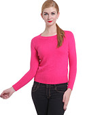 cheap Women's Tops-Women's Vintage Pullover - Solid Colored