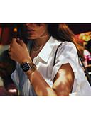 billige Lær-Klokkerem til Apple Watch Series 4/3/2/1 Apple Klassisk spenne Ekte lær Håndleddsrem