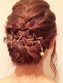 preiswerte Kopfbedeckungen für Damen-Damen Metallisch / Elegant, Messing / Aleación Haar Clip Solide