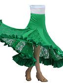 저렴한 볼룸 댄스 웨어-볼륨 댄스 투투&스커트 여성용 성능 우유 섬유 드레이핑 스커트 / 모던댄스