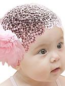 economico Vestiti per ragazze-Bambino (1-4 anni) Da ragazza Fantasia floreale Accessori per capelli Bianco / Rosso / Rosa Taglia unica / Cerchietti