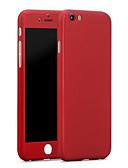 זול מגנים לאייפון-מגן עבור Apple iPhone 6s Plus / iPhone 6s / iPhone 6 Plus עמיד במים כיסוי אחורי אחיד קשיח PC