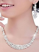 cheap Prom Dresses-Women's Crystal Jewelry Set - Silver Include Silver For Wedding / Party / Anniversary / Engagement
