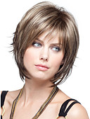 cheap Prom Dresses-Synthetic Wig Straight Synthetic Hair Wig Women's Short Capless
