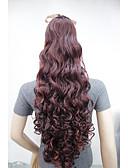 preiswerte Bauchtanzkleidung-Zum Festkleben Pferdeschwanz Synthetische Haare Haarstück Haar-Verlängerung Locken