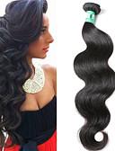 cheap Men's Blazers & Suits-1 Bundle Brazilian Hair Body Wave Virgin Human Hair Natural Color Hair Weaves / Hair Bulk 12-30 inch Human Hair Weaves 4a Human Hair Extensions / 10A