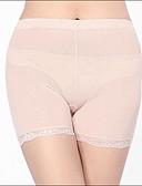 halpa Muotialusvaatteet-Naisten Ultra seksikkäät pikkuhousut Saumaton Muotoilevat alushousut, Yhtenäinen Puuvilla Polyesteri Spandex Musta Beesi