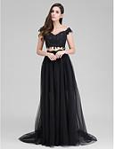 זול שמלות נשף-גזרת A / שני חלקים לב (סוויטהארט) שובל סוויפ \ בראש טול שני חלקים נשף רקודים / ערב רישמי שמלה עם אפליקציות על ידי TS Couture®