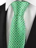 olcso Férfi nyakkendők és csokornyakkendők-Férfi Kreatív Stílusos Luxus Rácsos