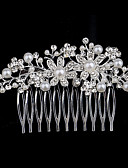 cheap Prom Dresses-Pearl / Crystal / Rhinestone Hair Combs with 1 Wedding / Special Occasion / Casual Headpiece