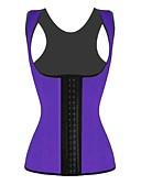 cheap Corsets-Women's Hook & Eye Plus Size Overbust Corset Underbust Corset-Solid