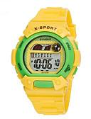 cheap Sport Watches-SYNOKE Sport Watch Wrist Watch Digital Watch Digital 30 m Water Resistant / Water Proof Alarm Calendar / date / day Rubber Band Digital Charm Blue / Green / Pink - Green Blue Pink / Chronograph / LCD