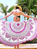זול מגבת חוף-גיאומטרי, דפוס - כיסוי בגדי ריקוד נשים