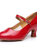 זול גברים-ג'קטים ומעילים-בגדי ריקוד נשים נעליים מודרניות נצנצים / סינטתי / עור פטנט סנדלים / עקבים / נעלי ספורט פאייטים / אבזם / קפלים עקב קובני ללא התאמה אישית