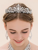 cheap Mother of the Bride Dresses-Rhinestone / Alloy Tiaras with 1 Wedding Headpiece
