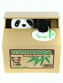 billige Korsetter-Itazura sparegrise Møntholder Stjælende sparebøsse Pengeboks Sparegris Legetøj Nuttet Elektrisk Kvadrat Panda Plast Stk. Gave