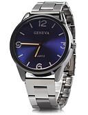 baratos Relógio Elegante-Homens Relógio Elegante Relógio de Pulso Quartzo / Lega Banda Analógico Casual Azul / Prata - Marron Vermelho Azul