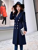 preiswerte Mantel & Trenchcoat-Damen - Solide Retro Arbeit Lang Mantel