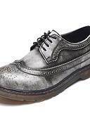 ieftine Cravate & Papioane de Bărbați-Unisex Pantofi Nappa Leather Primăvară / Vară / Toamnă Confortabili Oxfords Toc Drept Dantelă Gri / Maro / Albastru