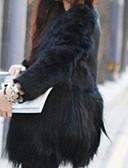 cheap Women's Fur Coats-Women's Plus Size / Daily / Party/Cocktail Casual Fur Coat
