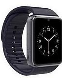 זול להקות Smartwatch-בגדי ריקוד גברים חכמים שעונים דיגיטלי שחור מסך מגע Alarm לוח שנה דיגיטלי זהב שחור / שלט רחוק / מד צעדים / מכשירי מדידה לספורט / שעון עצר