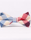 cheap Men's Ties & Bow Ties-Men's Party Work Basic Cotton Bow Tie - Patchwork