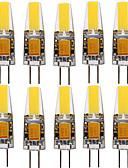 halpa Hatut-YWXLIGHT® 10pcs 4W 250-350lm G4 LED-kohdevalaisimet T 1 LED-helmet COB Koristeltu Lämmin valkoinen Kylmä valkoinen Neutraali valkoinen
