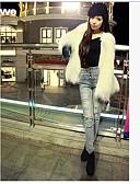 preiswerte Überbekleidung-Damen - Volltonfarbe Klassisch & Zeitlos Formaler Stil