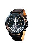 abordables Relojes Militares-Hombre Reloj de Pulsera Gran venta / / Piel Banda Casual / Moda / Reloj de Vestir Negro / Marrón