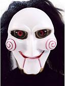 billige Eksotisk herreundertøy-Haloween-masker Spøkeleke Halloween Utstyr Maskerademasker Nyhet Joker Filmkarakter Horrortema Plast Deler Unisex Voksne Gave