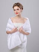hesapli Gece Elbiseleri-Suni Kürk / İmitasyonKaşmir Düğün / Parti / Gece Kadın Eşarpları İle Tema Atkılar