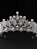 cheap Women's Belt-Imitation Pearl / Alloy Tiaras with 1 Wedding / Special Occasion / Casual Headpiece
