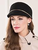 זול כובעים לנשים-צמר / סגסוגת כובעים עם 1 אירוע מיוחד / קזו'אל כיסוי ראש