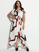 baratos Vestidos de Mulher-Mulheres balanço Vestido - Fenda Estampado Colarinho de Camisa Longo