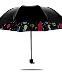 זול מעילי פרווה לנשים ומעילי פרווה-פלסטי בגדי ריקוד גברים / בגדי ריקוד נשים / בנות שמשייה מטריה מתקפלת