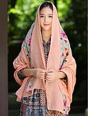 voordelige Modieuze sjaals-Dames Print Katoen Rechthoekig -