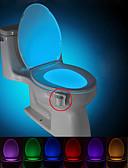 hesapli Gelinlikler-BRELONG® 1 parça Tuvalet lambası Batarya Sensör <5V