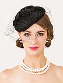 olcso Női kalapok-gyapjú háló fascinators sapka fejdísz klasszikus női stílus