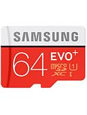 halpa Hääpuvut-SAMSUNG 64Gt Micro SD-kortti TF-kortti muistikortti UHS-I U1 Class10 EVO Plus EVO+