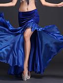 preiswerte Bauchtanzkleidung-Bauchtanz Balletröckchen und Röcke Damen Leistung Polyester / Milchfieber Rüschen Normal Rock