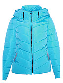cheap Women's Downs & Parkas-Women's Cotton Padded - Solid Colored Hooded / Fall / Winter