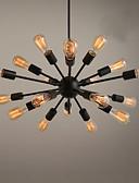 baratos Vestidos Estampados-Ecolight™ Sputnik Lustres Luz Ambiente Acabamentos Pintados Metal Designers 110-120V / 220-240V Lâmpada Não Incluída / E26 / E27