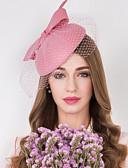 Χαμηλού Κόστους Αξεσουάρ Χορού-Μαλλί / Τούλι / Δίχτυ Kentucky Derby Hat / Γοητευτικά / Καπέλα με Φλοράλ 1pc Γάμου / Ειδική Περίσταση / Causal Headpiece
